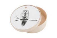 Plywood with Owl 24cm