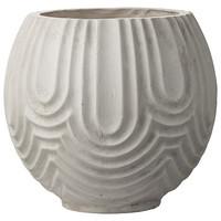 Sarah flower pot cement Ø37x37 cm