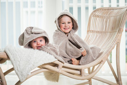 Baby Cape Towel 0-5 yrs. Sand