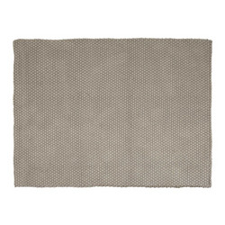 PET Rug Rope 190x130 Grey