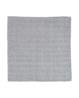 Herringbone Napkin Gray-White