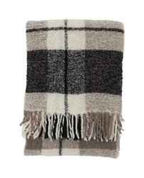 Bouclé Throw Gray