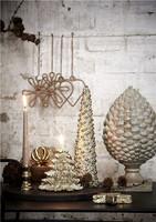 Serafina Pine cone Centerpiece 24cm Gold