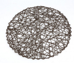 Place mat Black-gold