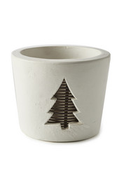 Winter Tree Pot L