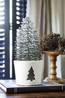 Winter Tree Pot L