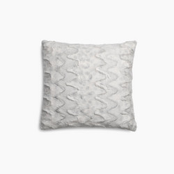 Cecilia Cushion White-Grey 45x45