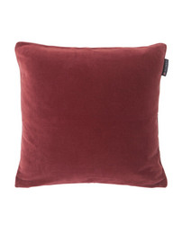 Cotton Velvet Sham 50x50 Red