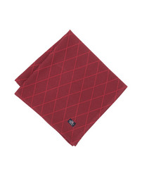 Jacquard Napkin Red