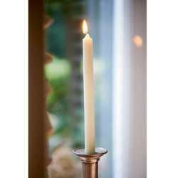 Dinner Candle off white 2x25