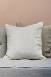 Lovely Linen Pillow case eggshell 50x50