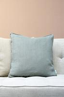 Lovely Linen Pillow case Fresh green 50x50