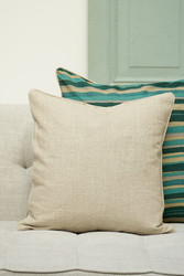 Serene Island palm tree Pillow Cover 50x50