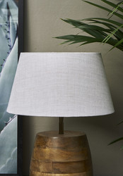 Loveable Linen Lampshade Sand 28x38