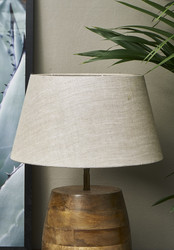 Loveable Linen Lampshade Natural 28x38