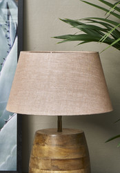 Loveable Linen Lampshade Nude 28x38