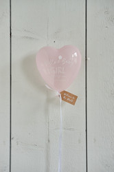 Hello Baby Girl Balloon