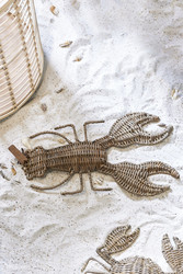 Rustic Rattan Lobster