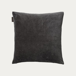 Paolo Cushion cover 50x50 Dark Charcoal Grey