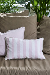Hibiscus Bay Stripe Outdoor Pillow cover 50x30