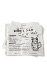 Paper Napkin Home Made Lemonade