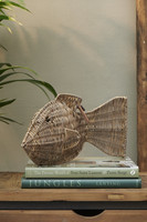 Rustic Rattan Big Fish