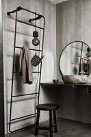 Wall Mirror Round Copenhagen XS Brass