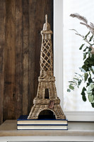 Rustic Rattan La Tour Eiffel
