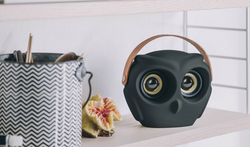 Owl bluetooth speaker black