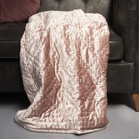 Rue De Paris Quilted Throw 180x130