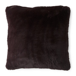 Boutique Burgundy FauxFur Pillow Cover 45x45