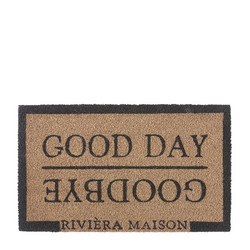 Good Day Goodbye Doormat