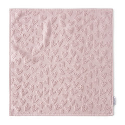 Lovely Heart Kitchen Towel pink
