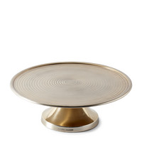 Johnsen Cake Stand soft gold L