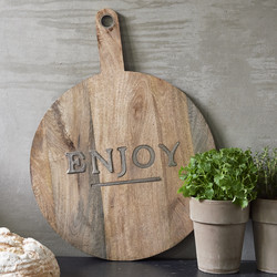 Enjoy Chopping Board Round