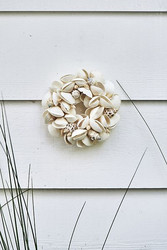 Sail more seashell wreath dia 15