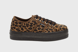 Barcelona Leopard Trainers
