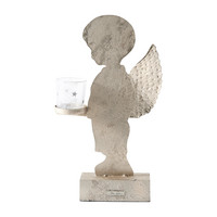 Christmas Angel Boy Votive Holder