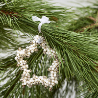 Jingle Pearl Star Ornament S