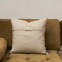 Vintage Velvet Pillow Cover Orange 50x50