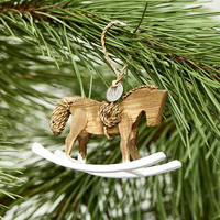 RR Rocking Horse Ornament