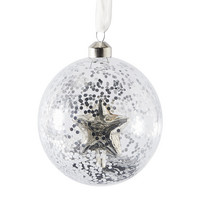 Pretty Star Ornament silver Dia 10