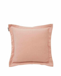 Hotel Velvet Sham with Embroidery, Pink