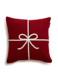 Holiday Bow Sham, Red