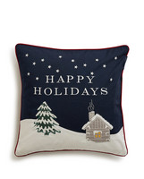 Holiday Snowy House Sham, Multi