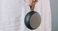 aGO Ultra Portable Mini Speaker Black