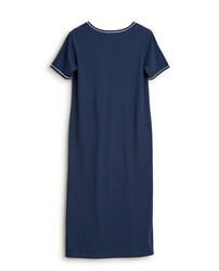 Womens Jersey Nightgown Blue