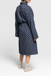 Diamond Robe Sateen Blue