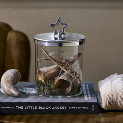 Christmas Star Storage Jar