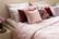 Elsa Bed spread Rose 250x260